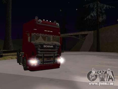 Scania 460 für GTA San Andreas zurück linke Ansicht