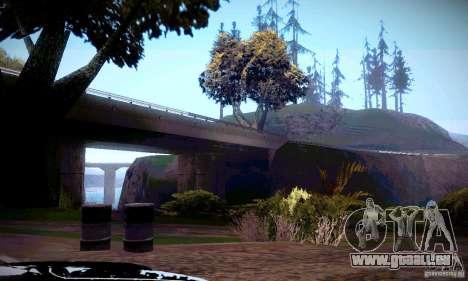 ENBSeries von _SilveR_ v2. 0 für GTA San Andreas zweiten Screenshot
