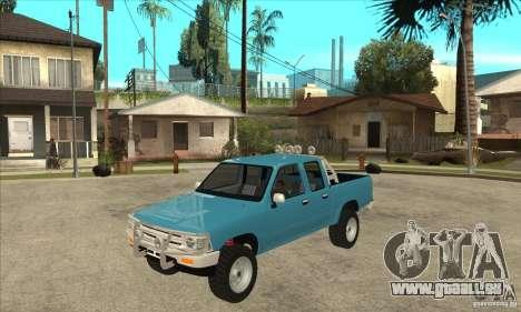 Toyota Hilux CD pour GTA San Andreas