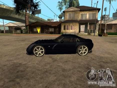 TVR Sagaris für GTA San Andreas zurück linke Ansicht