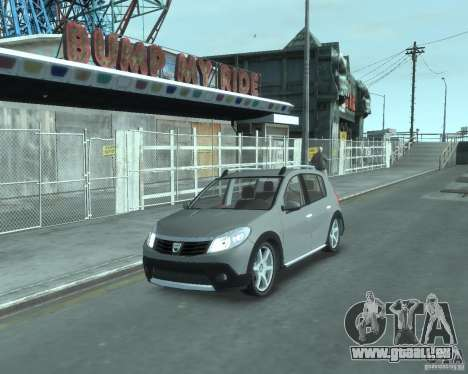 Renault Sandero v2.0 pour GTA 4