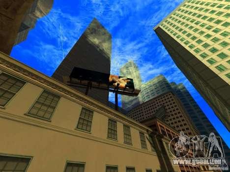 Angle de caméra améliorée V2 pour GTA San Andreas deuxième écran