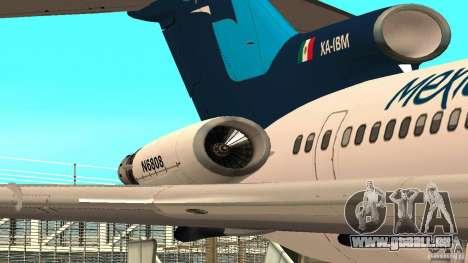 Boeing 727-200 Final Version für GTA San Andreas linke Ansicht