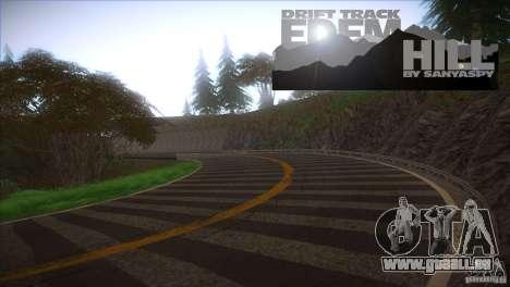 Edem Hill Drift Track pour GTA San Andreas deuxième écran