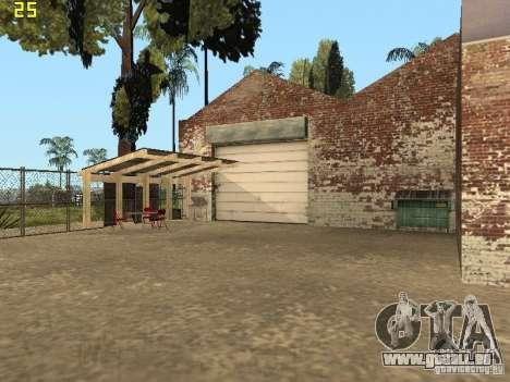 Service de voiture près de Grove pour GTA San Andreas