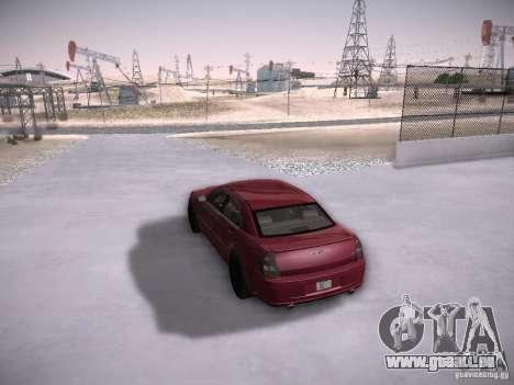 Chrysler 300C SRT8 pour GTA San Andreas vue de côté