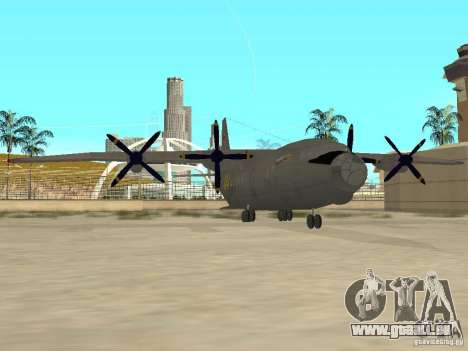 Antonow An-12 für GTA San Andreas linke Ansicht