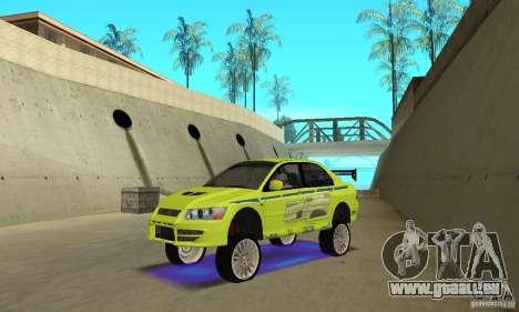 Amélioration des néons bleus pour GTA San Andreas troisième écran