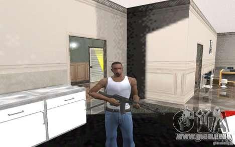 AK-74 m pour GTA San Andreas cinquième écran