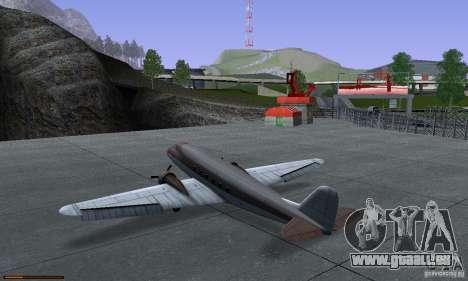 Essence capteur unique pour GTA San Andreas huitième écran