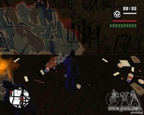 Clochards dans la ruelle pour GTA San Andreas