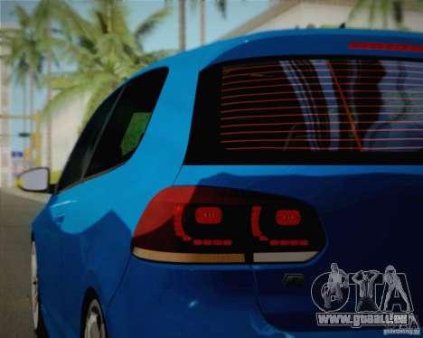 Volkswagen Golf R 2010 pour GTA San Andreas vue de côté