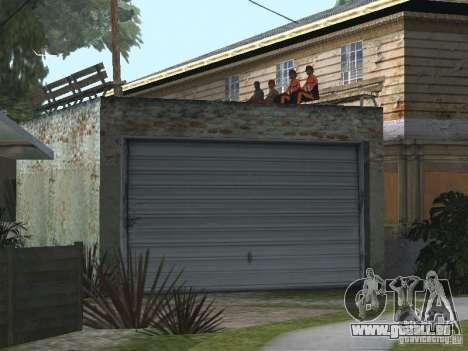 Der neue Grove Street für GTA San Andreas dritten Screenshot