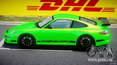 Porsche 997 GT3 RS pour GTA 4 Vue arrière de la gauche