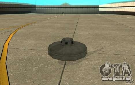 UFO pour GTA San Andreas laissé vue