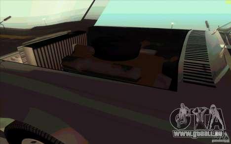 ZIL 41041 für GTA San Andreas Innen