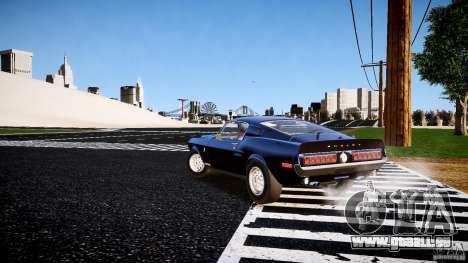 Ford Shelby GT500 KR 1968 pour GTA 4 est un droit