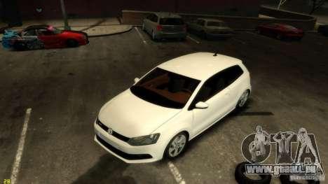 Volkswagen Polo v1.0 pour GTA 4 Vue arrière