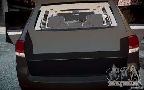Volkswagen Touareg R50 pour GTA 4 est un côté