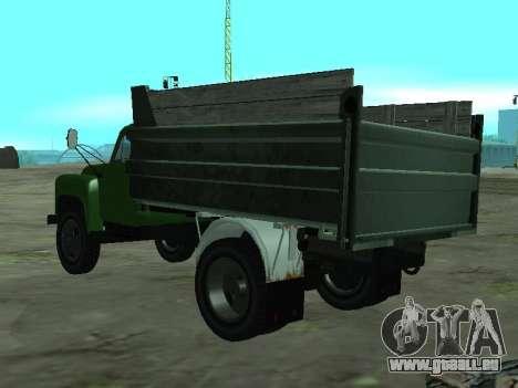 GAZ 53 LKW für GTA San Andreas zurück linke Ansicht