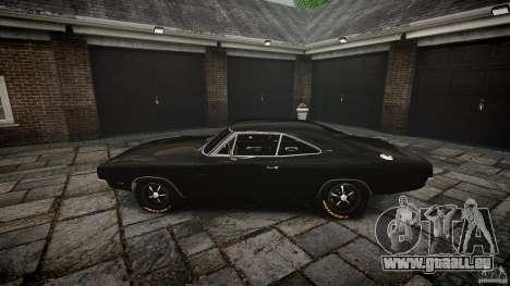 Dodge Charger RT 1969 pour GTA 4 vue de dessus