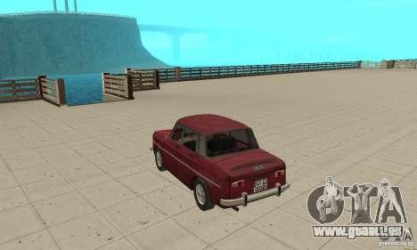 Dacia 1100 pour GTA San Andreas sur la vue arrière gauche