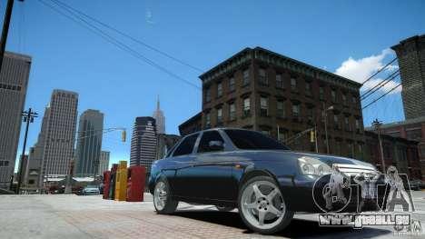 Lada Priora Light Tuning für GTA 4 rechte Ansicht