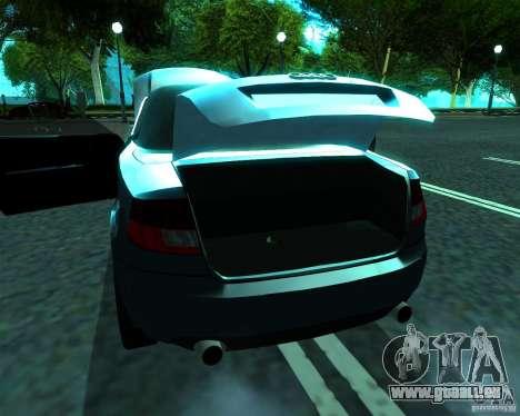 Audi A4 Cabrio für GTA San Andreas rechten Ansicht