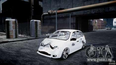 Lada Kalina Tuning für GTA 4 Innenansicht