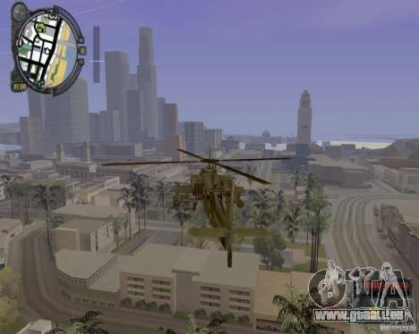 iCEnhancer beta für GTA San Andreas her Screenshot
