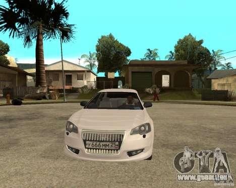 GAZ Volga Siber 2,5 AT für GTA San Andreas Rückansicht