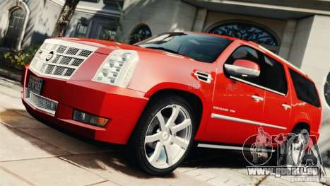 Cadillac Escalade ESV Platinum 2012 pour GTA 4