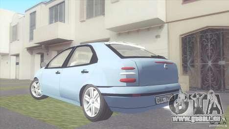 Fiat Brava HGT pour GTA San Andreas laissé vue