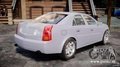 Cadillac CTS pour GTA 4 Vue arrière de la gauche