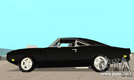 Dodge Charger RT 1970 The Fast & The Furious pour GTA San Andreas laissé vue