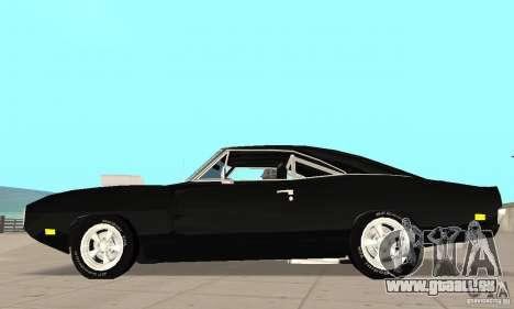 Dodge Charger RT 1970 The Fast & The Furious pour GTA San Andreas laissé vue