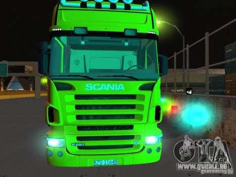 Scania R620 pour GTA San Andreas vue arrière
