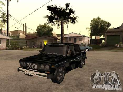 Vaz 21065 pour GTA San Andreas vue intérieure