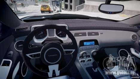 Chevrolet Camaro SS 2009 v2.0 für GTA 4 Rückansicht