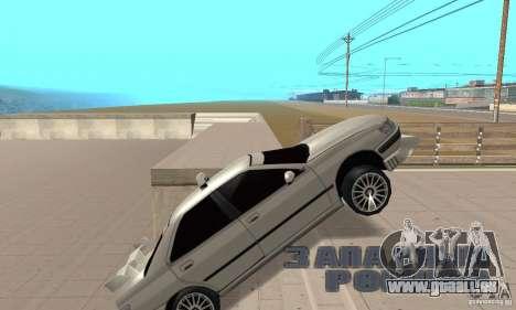 Peugeot 406 TAXI für GTA San Andreas Rückansicht