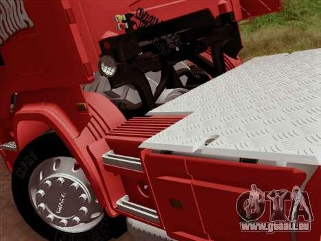 Scania R620 Brahma für GTA San Andreas obere Ansicht