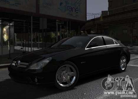 Mercedes-Benz CLS 63 AMG für GTA 4 linke Ansicht