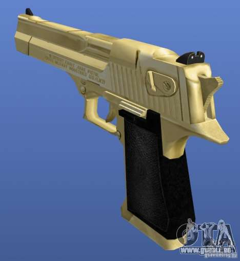 Desert Eagle Retex 1.2 Gold pour GTA 4