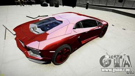 Lamborghini Aventador LP700-4 pour GTA 4 est une gauche