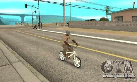 Skyway BMX pour GTA San Andreas vue de droite
