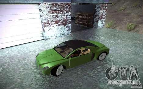 Renault Fiftie Concept für GTA San Andreas linke Ansicht