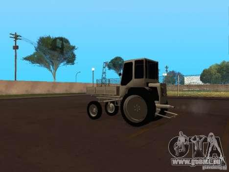 Traktor T16M für GTA San Andreas zurück linke Ansicht