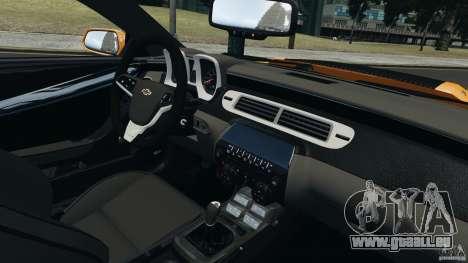 Chevrolet Camaro ZL1 2012 für GTA 4 hinten links Ansicht