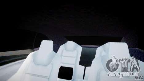 Chevrolet Camaro 2009 pour GTA 4 est une vue de dessous