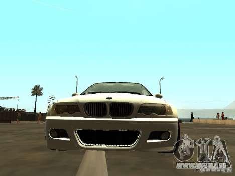 BMW M3 E46 v1.0 für GTA San Andreas zurück linke Ansicht